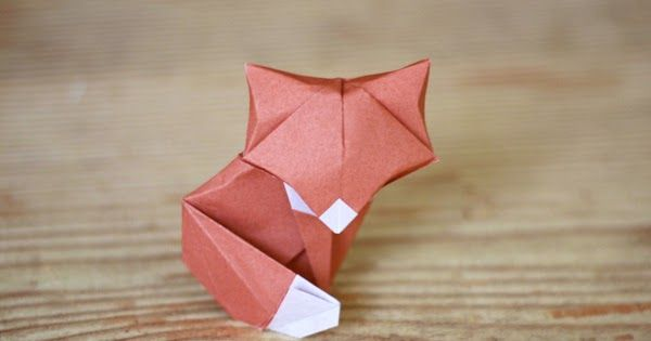 I tried folding another origami fox model . There was something about the tail I couldn't figure out between steps 22 and 23, but I like hi...
