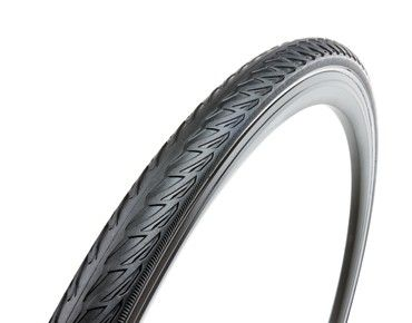 The tyre for daily use in urban traffic. The Solid Shield offers effective protection against punctures caused by foreign bodies and takes potholes in its strides without any difficulty. The tyre profile with special grooves at the side of the wheels keeps the wheel on track, even off road. · sizes: 700 x 35 C, 700 x 38 C, £11.91 Rose