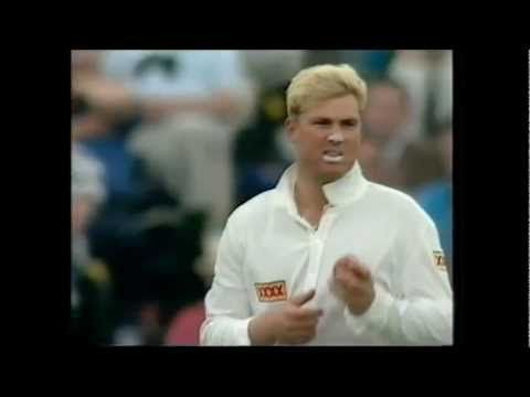 """The Ball of the Century, also referred to as the Gatting Ball or simply That Ball, is the name given to a #cricket delivery bowled by Australia's Shane Warne to England's Mike Gatting. The event occurred on day two of the first Test of the 1993 Ashes series (4 June 1993), which took place at Old Trafford, Manchester. With his first ball against England, in his first Ashes Test, Warne produced a spectacular delivery that bowled Gatting."" http://en.wikipedia.org/wiki/Ball_of_the_Century"