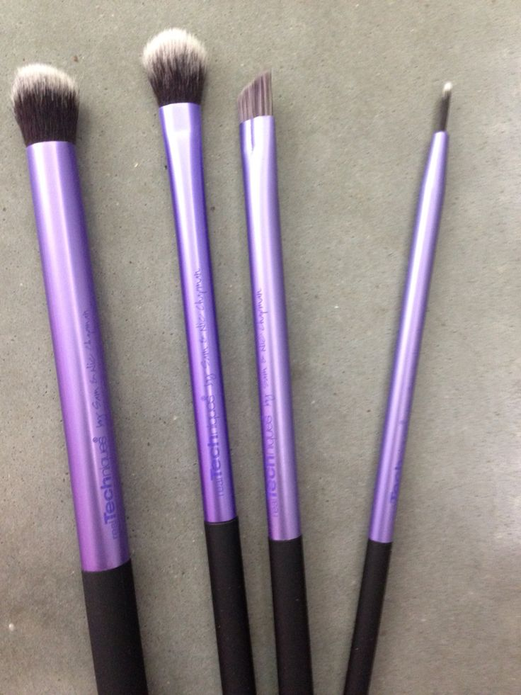 Real Techniques Eye Brushes. Never used. 15.00 for all of them.