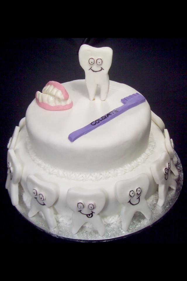 Dentist cake lol