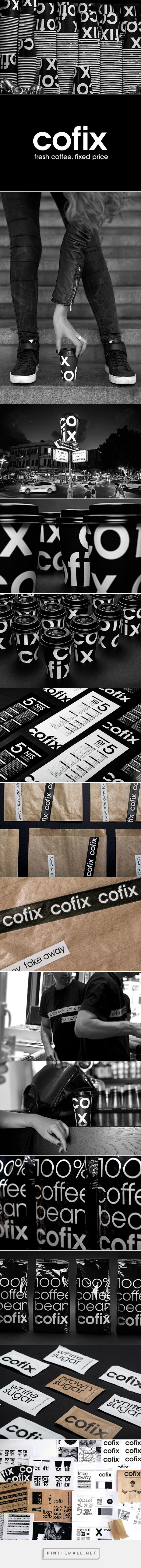 COFIX Coffee Packaging designed by Kapsoola​ - http://www.packagingoftheworld.com/2015/10/cofix.html