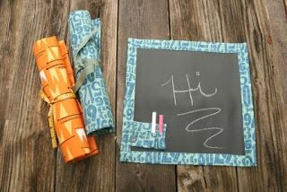 Simple Yes, Easy NO: Fabric Roll-up Chalk Boards Chalk fabric can be bought at http://www.fabricbuffet.com/cgi-bin/Store/store.cgi?.s0=fb_novelty=fb_mda_chalk_clth=0=