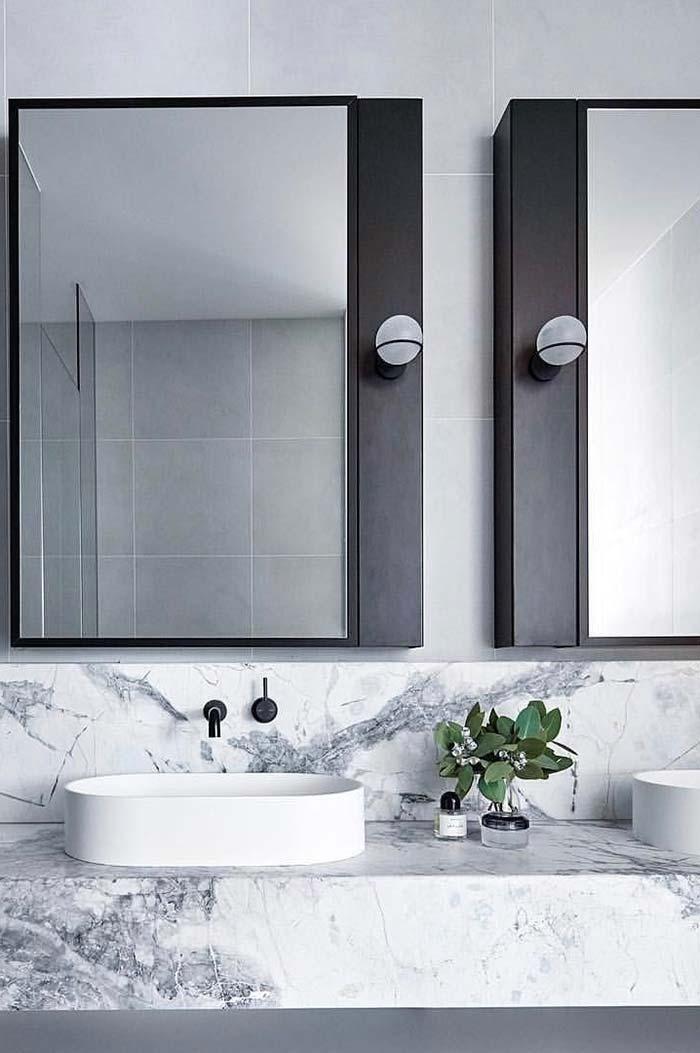 Badezimmerspiegel Tipps Zur Auswahl Des Idealen Modells Neu Dekoration Stile Badezimmer Innenausstattung Badezimmereinrichtung Badezimmer Arbeitsplatten