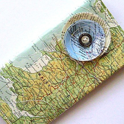 Wrap gifts with recycled materials (heaps of ideas on this site)