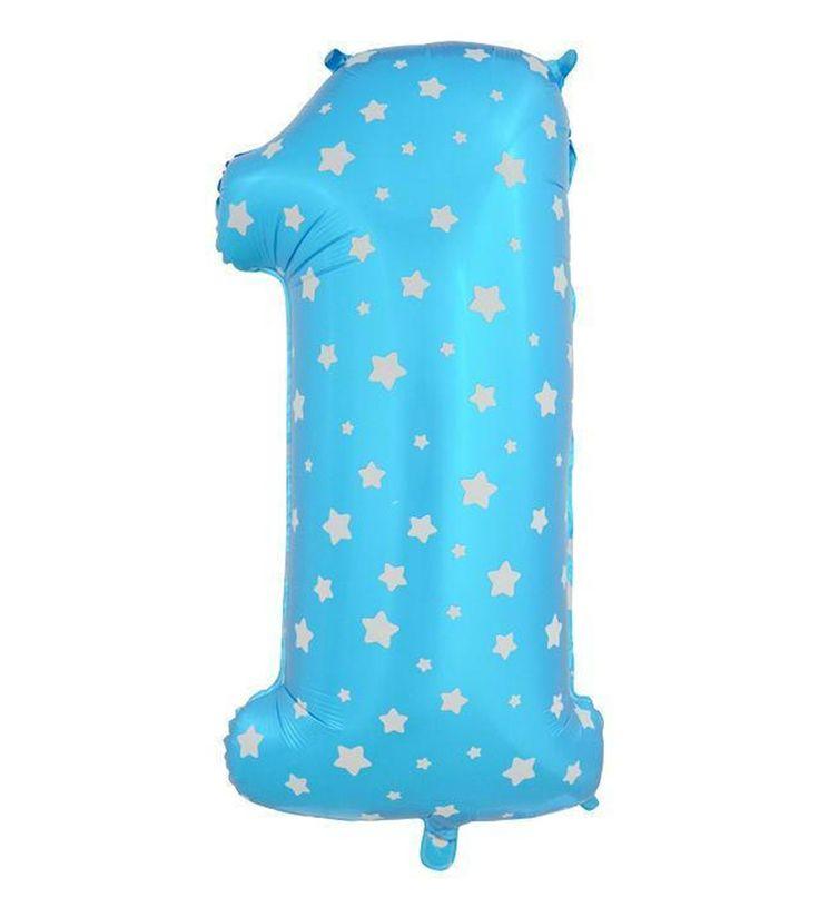 40 дюймов номер 1 фольга воздушные шары большой розовый синий Воздуха цифра отпечатано сердце шар день рождения свадьба украшения ballon праздничные атрибуты