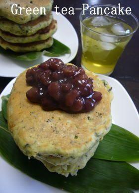 緑茶のホットケーキ♪ by aki_kazumi [クックパッド] 簡単おいしい ...