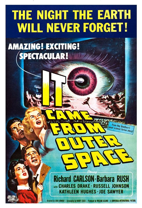 7 best images about it came from outer space on pinterest for The thing that came from outer space
