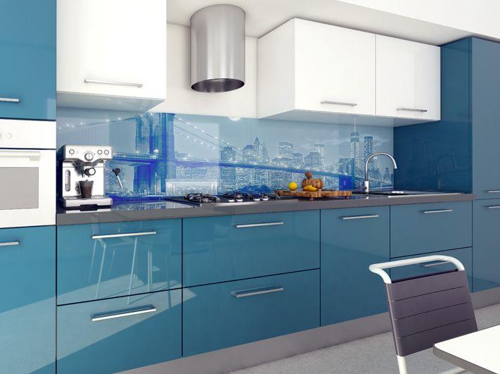 13 fantastiche immagini su schienali cucina stampati su - Schienale cucina in vetro temperato ...