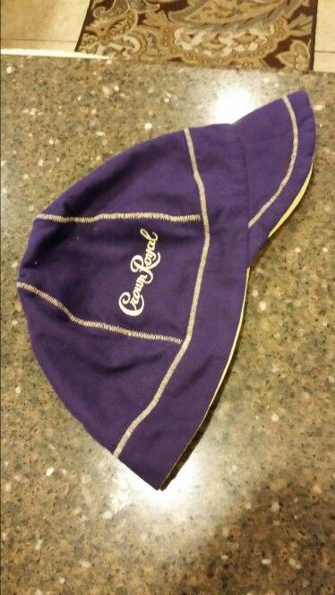 Sweet welder hat for my son Matt. 2 large crown royal bags.
