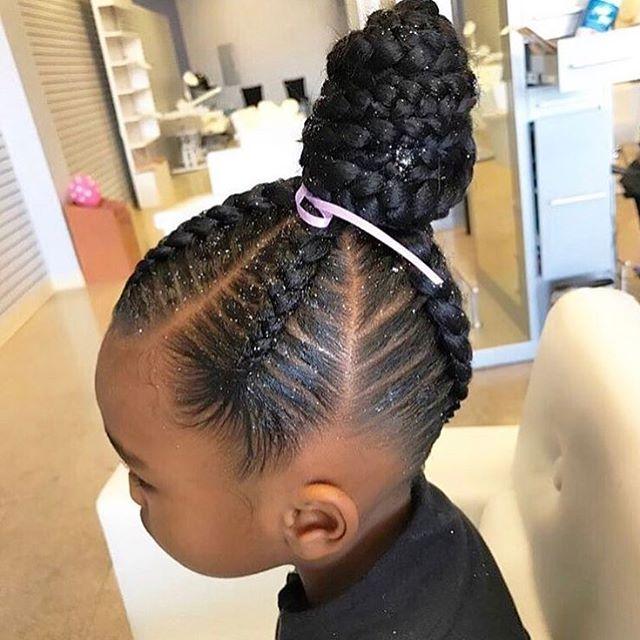 The 25 Best Kids Braided Hairstyles Ideas On Pinterest
