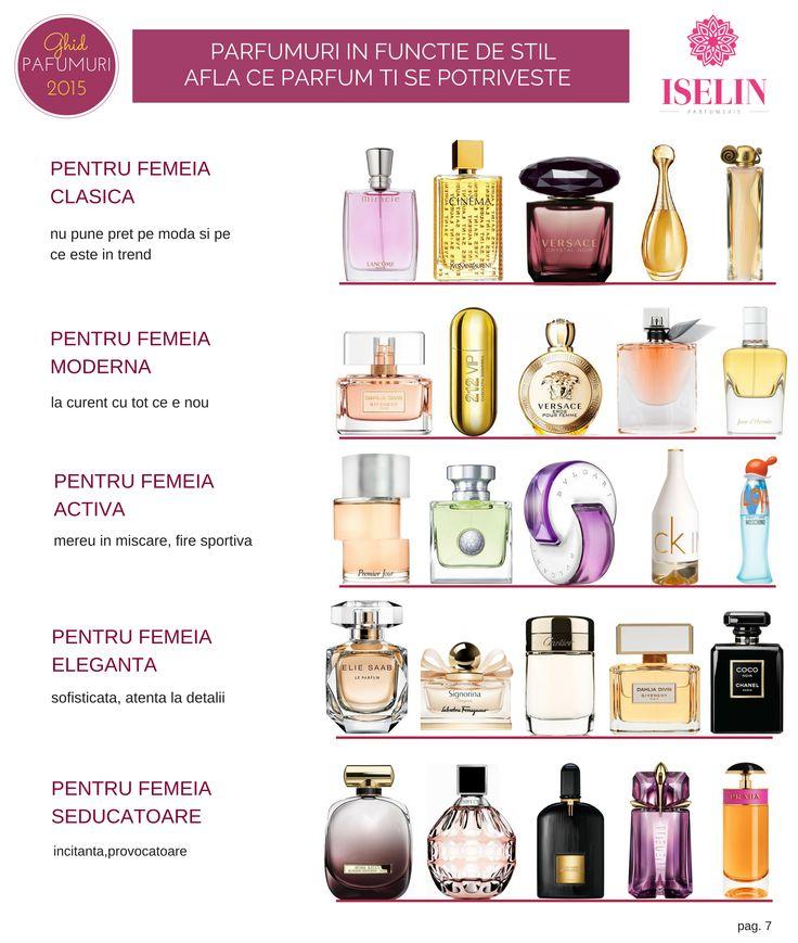Parfumuri in functie de stil - afla ce parfum ti se potriveste http://blog.iselin.ro/recenzii/100-noutati-parfumuri-toamna-2015-cele-mai-noi-parfumuri-de-dama.html