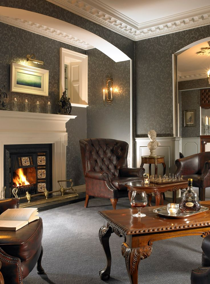 An Irish Fire, some good Brandy and a great read - what more could you want after a long day of touring - Randles Hotel, Killarney
