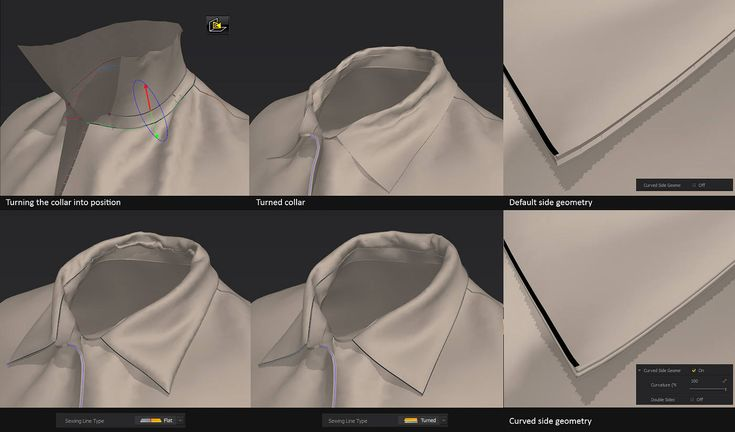 Side geometryBeing able to add thickness to a garment is a no-brainer.Marvelous Designer proposed the user to enable thickness...