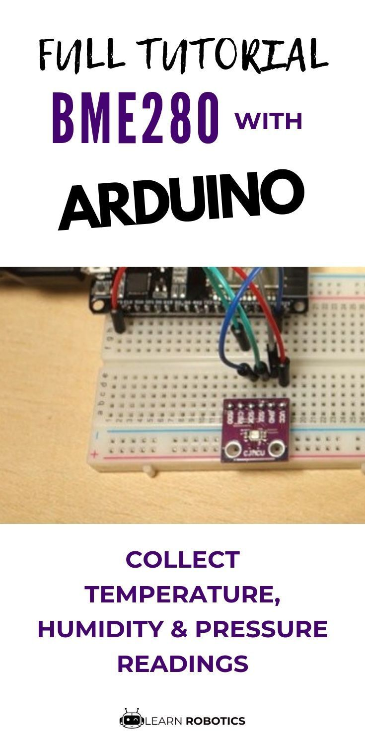 Create a weather station using the BME280 sensor with Arduino  Full