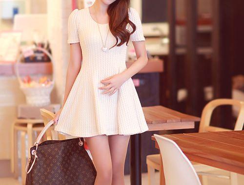 : Beauty Fashion, Fashion Passion, Purse, Style, Skinny Belt, Amazing Dresses Outifits, Favorite Fashion, Little White Dresses