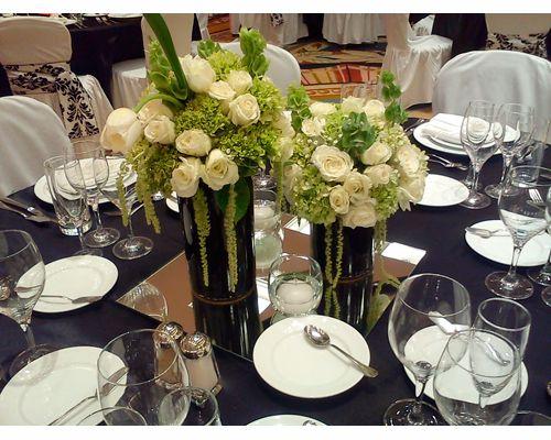 Ady Florerías / centro de mesa para boda