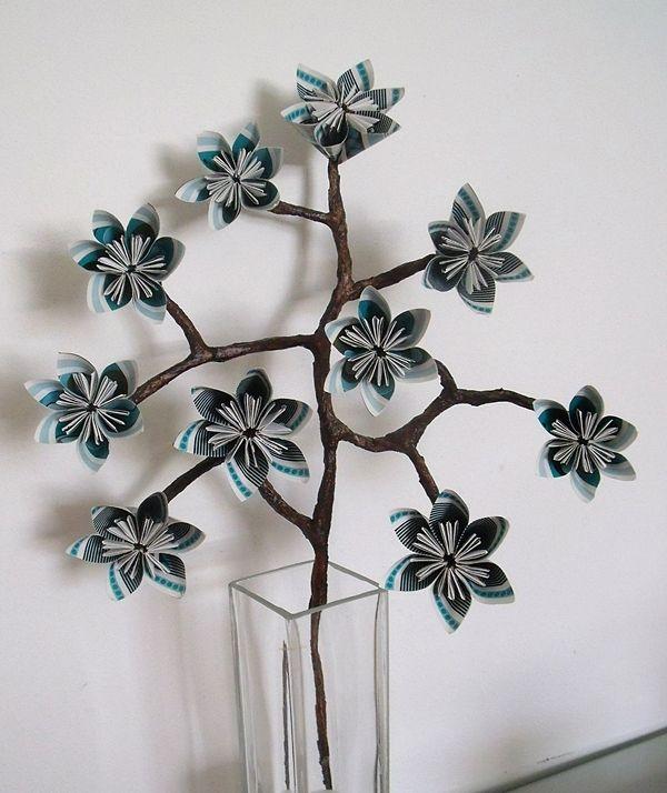 Kusudama - větvička