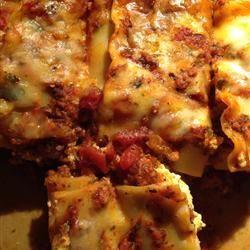 La meilleure lasagne de la planète