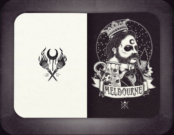 JOURNEY TO THE END by Florian Schommer, via Behance