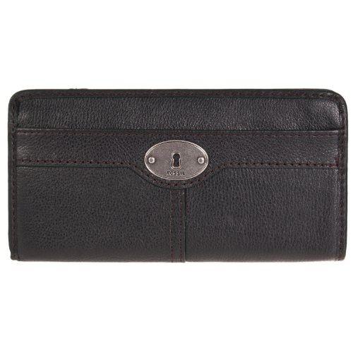 Billetera Fossil Marlow Zip Negro | $225,000.00