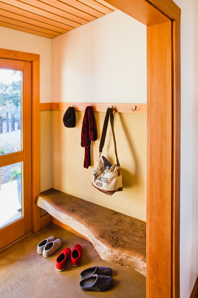 Butterscotch walls with butterscotch/gold beige flooring. Wood trim is never neutral like wood flooring is.