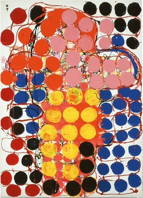 田中敦子《作品》1957年 所蔵・写真提供:芦屋市立美術博物館 ©Ryoji Ito