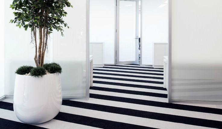 Bold Stripe Carpet Tiles, Aurora Place, Sydney NSW | Godfrey Hirst Australia Commercial