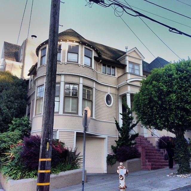 Mrs Doubtfire Location The Family Home 2640 Steiner Street Pacific Heights San