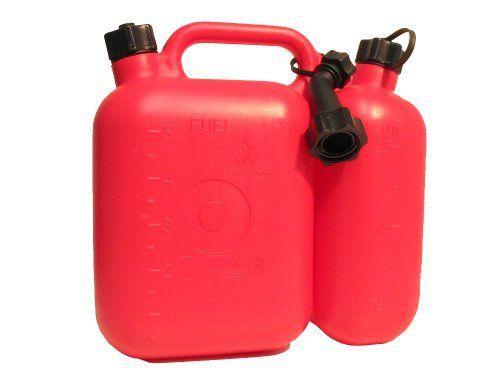 Filmer 38140 Double bidon essence/huile 5 l & 2,5 l: Filmer 38140 Double bidon essence/huile 5 l & 2,5 l – L' innovation pour une variété…