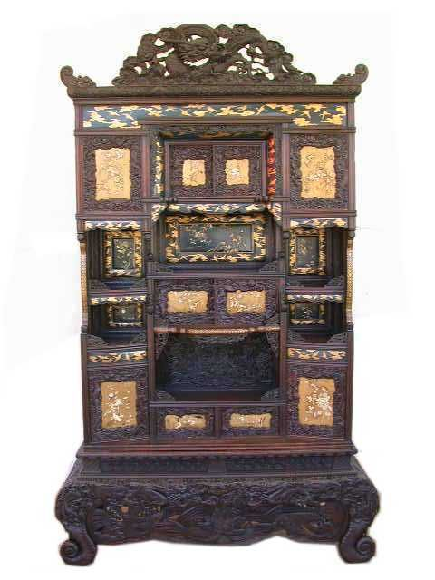 17 best images about japanese furniture on pinterest for Antique asian cabinet