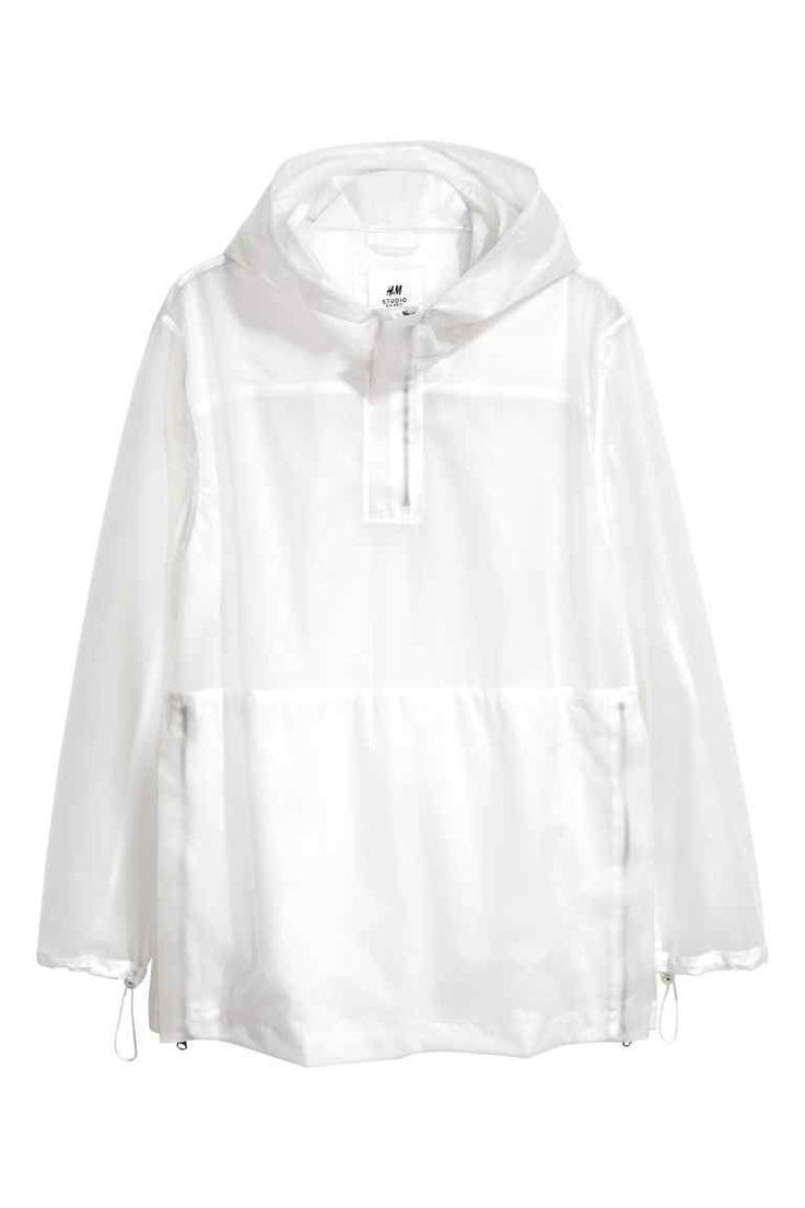 Transparan Ceket - Beyaz - Men   H&M TR 1