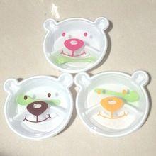 1 Шт. Милый Плюшевый медведь формы моды студенты мультфильм решетки пластиковые lunch box Дети любили Dinnerwar (00119)(China (Mainland))