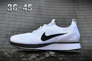 014c5620e501b Mens Womens Nike Air Zoom Mariah Flyknit Racer Pure Platinum White 918264  002 Running Shoes Nike
