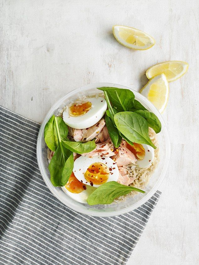 High Protein Pot - get recipe here: http://www.dailymail.co.uk/health/article-3980088/Can-t-stomach-M-S-sarnie-Expert-reveals-10-quick-healthy-ways-spice-lunch-break.html