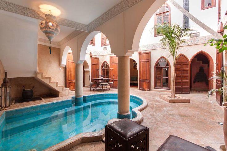 Schau dir dieses großartige Inserat bei Airbnb an: Lovely Riad privatisé pool&WIFI - Häuser zur Miete in Marrakesch