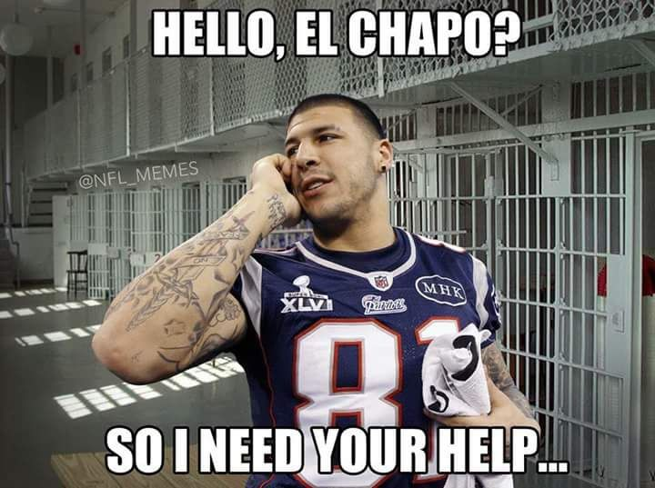 Oops damn they got you too lol... #ElChapo #SportsHumor #BrianBeck