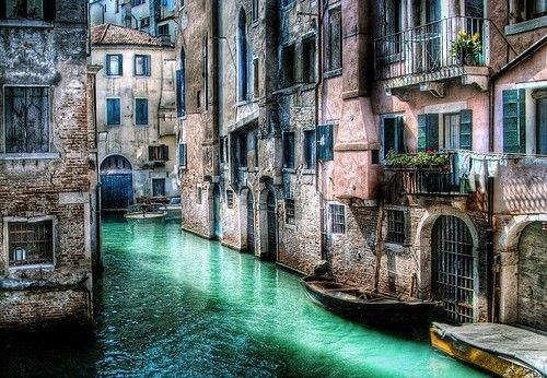 #buildings #water #light #outdoors: Gondola, Favorite Places, The Artists, Learning Italian, Beautiful, Venice Italy, Faraway, Shower Curtains, Photo