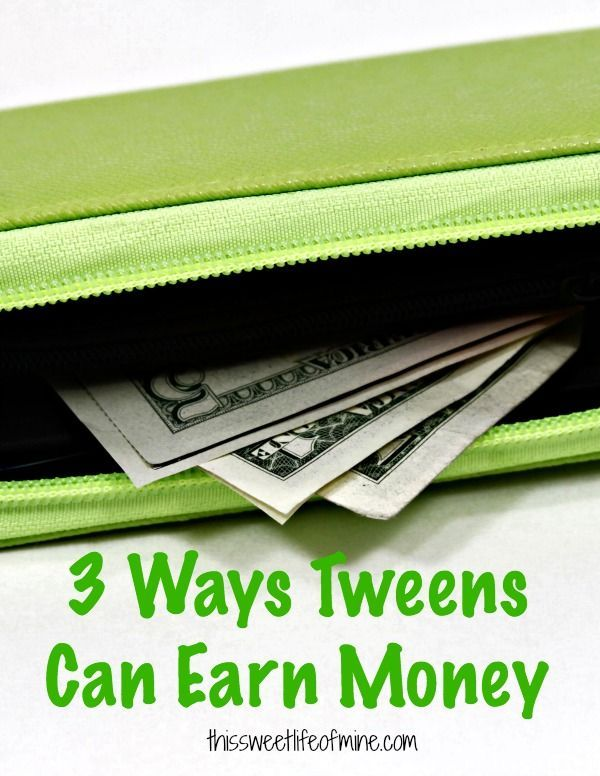 Are your #tweens looking for ways to earn money? Try these three tips. | thissweetlifeofmine.com