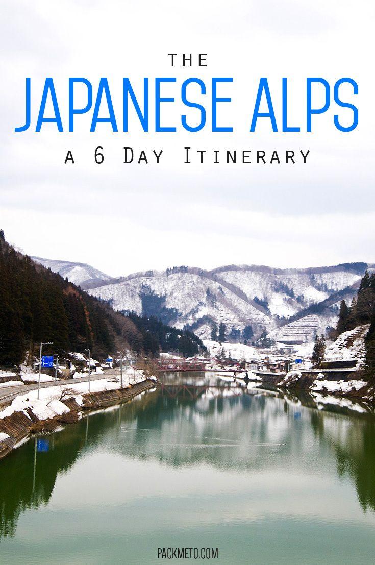 Take a journey through the Japanese Alps and visit the beautiful cities of Nagano, Takayama, Shirakawago and Kanazawa in this 6 day itinerary   packmeto.com