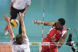 Pese a la juventud de la plantilla, el equipo de  voleibol masculino adquiere logros importantes.  Preocupa a todos sus adversarios en cualquier  certamen (Foto: Cortesía de la FIVB)