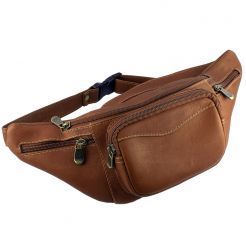 Andino Leather Waist Pack by Dilana™ #leather #fannypack #waistpack
