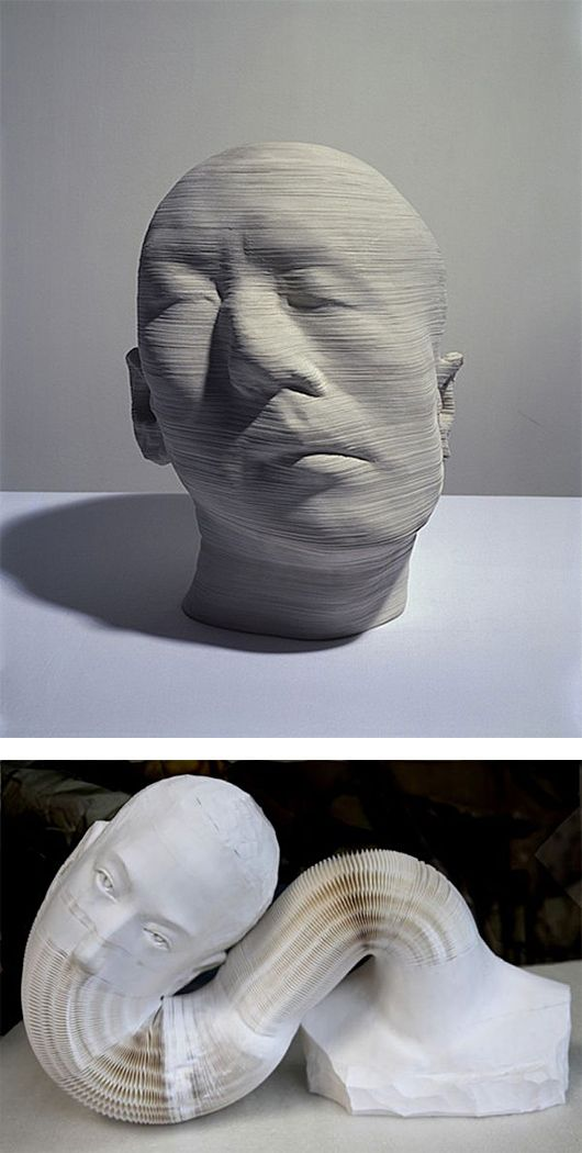 Flexible Paper Sculptures by Li Hongbo | Inspiration Grid | Design Inspiration