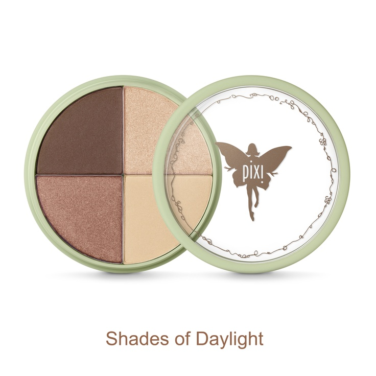 Shade Quartette, $22. A tone-on-tone wheel of coordinated shades for the ultimate natural eye. Suit-all shades transition easily from day to night and blend like a dream.
