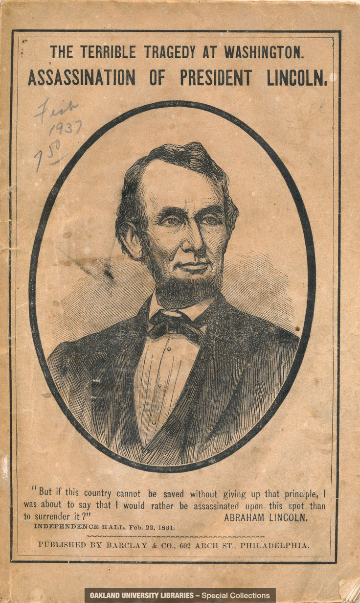 account of the assassination of president abraham lincoln Archives | president lincoln shot by an assassin the deed done at ford's theatre last night the act of a desperate rebel the president still alive at last accounts.