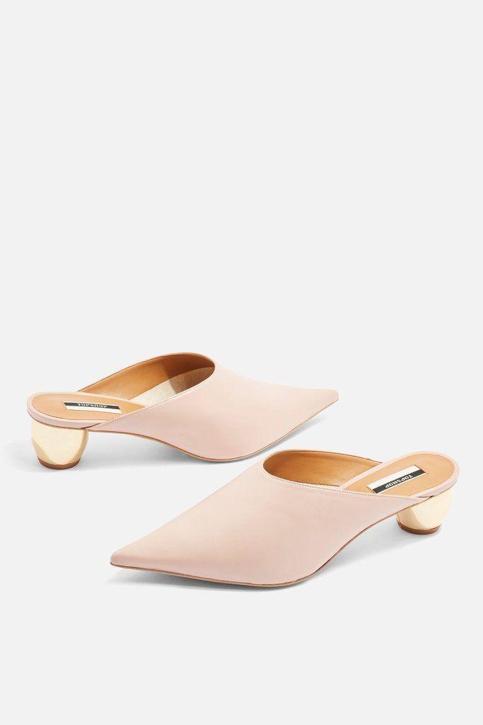 Topshop Juniper Ball Heel Mules Heeled Mules Women Oxford Shoes
