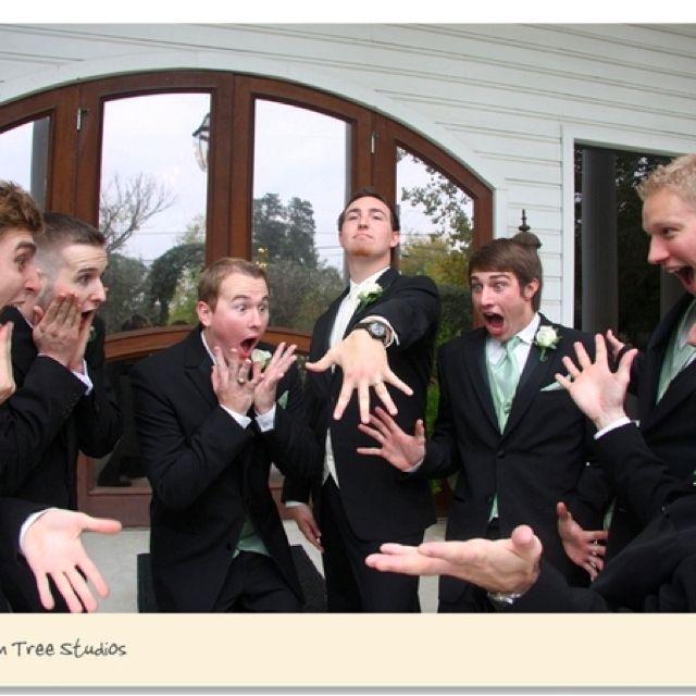 Fun Wedding Poses!!! The Man Ring.