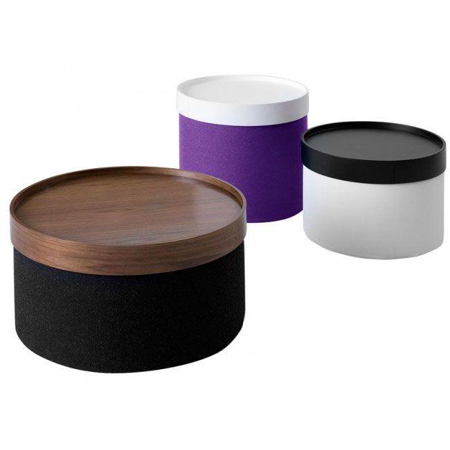 Ideen bag Drums er et dekorativt og funktionelt møbel med adskillige anvendelsesmuligheder. #design #danskdesign #indretning #softline