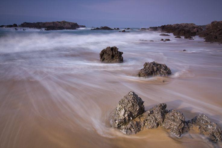 Playa de Ris, en Noja (Cantabria)