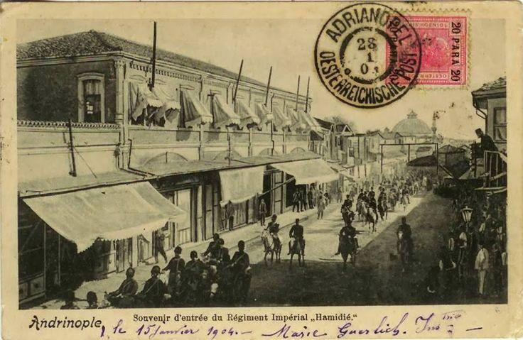 EDİRNE SARAÇLAR CADDESİ 1904